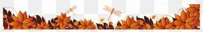 Autumn Base Material - Autumn Web Banner Leaf PNG