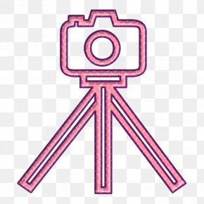 Tripod Icon Tool Icon - Camera Icon Equipment Icon Photo Icon PNG