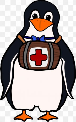 Penguins Doctors - Basic First Aid American Red Cross Clip Art PNG