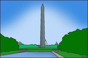 Monument Cliparts - Washington Monument Soldiers National Monument Clip Art PNG