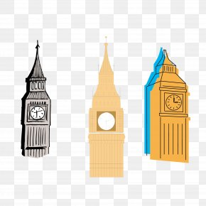 Big Ben Vector Material Collection - Big Ben Euclidean Vector Bell PNG