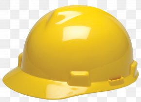 Safety Hat - Hard Hats Yellow Cap Mine Safety Appliances PNG