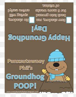 Christmas - Punxsutawney Christmas Groundhog Day Child Caganer PNG