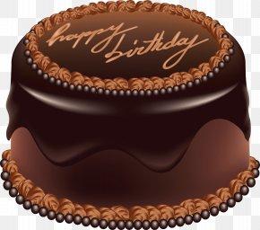 Birthday Cake - Birthday Cake Chocolate Cake Bundt Cake PNG