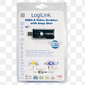 Video Capture AdapterUSB 2.0 LogiLink USB2.0 Video/Audio Grabber With Snap ShotVideo Capture AdapterUSB 2.0Computer - Frame Grabber Computer LogiLink USB2.0 Video/Audio Grabber With Snap Shot PNG