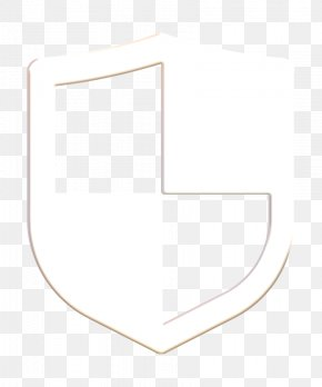 Symbol Blackandwhite - Shield Icon PNG