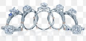 Infinity Band Engagement Ring - Engagement Ring Diamond Jewellery Gemstone PNG
