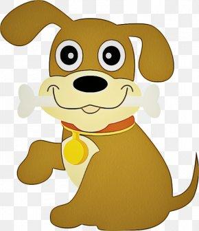 Dog Breed Animation - Cartoon Animated Cartoon Puppy Yellow Dog PNG