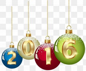 Euro - Christmas Ornament New Year Clip Art PNG