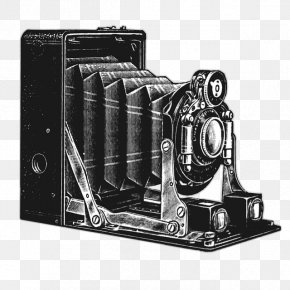 Hand-painted The Camera - Photographic Film Antique Cameras Clip Art PNG