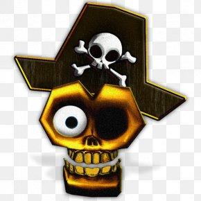 Skull - Human Skull Symbolism Jolly Roger Piracy Skull And Crossbones PNG