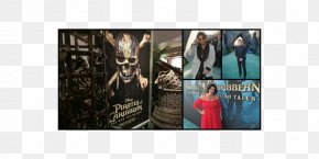 Pirates Of The Caribbean - Pirates Of The Caribbean Poster Premiere Film Collage PNG