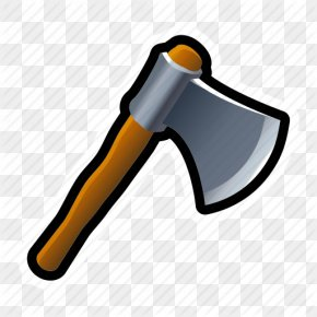Cartoon Ax - Battle Axe Tool Icon PNG