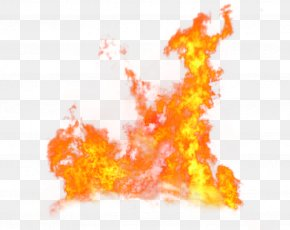 Red Fresh Flame Effect Element - Fire Flame PNG