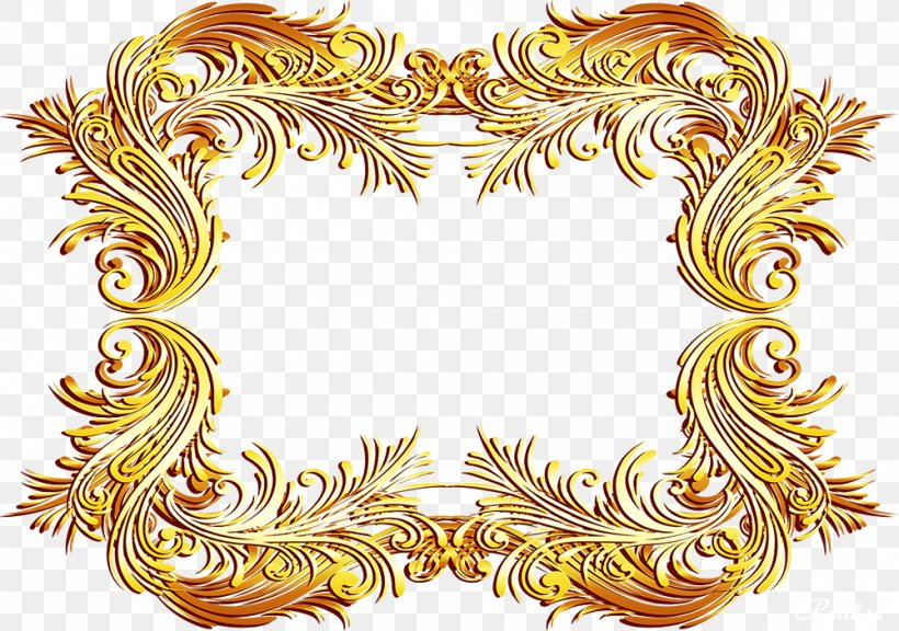 Gold Picture Frames Ornament Raster Graphics Clip Art, PNG, 1000x703px, Gold, Daytime, Gold Frame, Ornament, Picture Frames Download Free