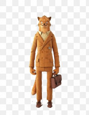 Brown Leopard Character - Mr. Fox Character Designer Toy Doll Illustration PNG