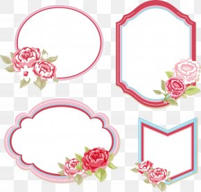 Hand-painted Flowers Vector Decorative Borders - Picture Frame Flower Decorative Arts Clip Art PNG