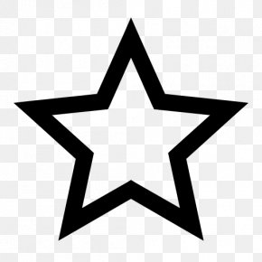 Five-pointed Star Shining - Five-pointed Star PNG