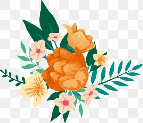 Watercolor Flowers - Floral Design Watercolor Painting Flower Clip Art PNG