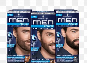 Beard - Hair Coloring Schwarzkopf Beard Man PNG