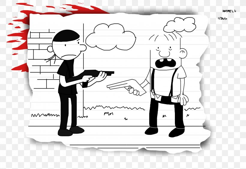 Diary Of A Wimpy Kid The Last Straw Drawing School Shooting Columbine High School Png 3200x2200px