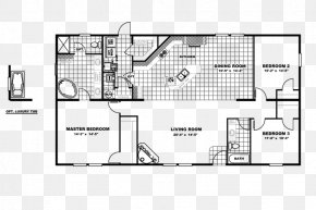 Floor Price - Floor Plan Technical Drawing Manufactured Housing PNG
