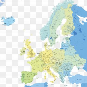 Vector Map - Europe Vector Map Royalty-free PNG