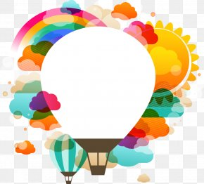Cartoon Hot Air Balloon Pattern - Hot Air Balloon Stock Photography Clip Art PNG
