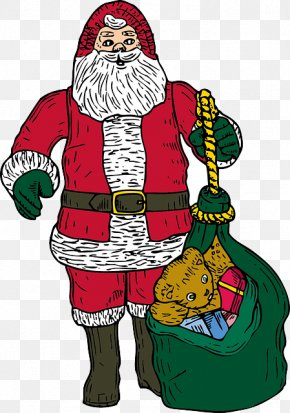 Santa Claus - Santa Claus Christmas Ornament Saint Nicholas Day Clip Art PNG