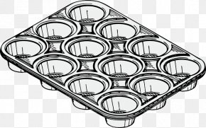 Thai Fried Rice - Muffin Tin Cupcake Clip Art PNG