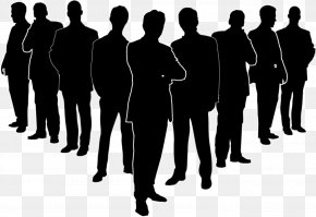 The Management Of The Silhouette - Businessperson Senior Management PNG