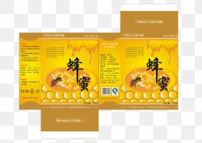 Honey Box - Paper Packaging And Labeling Box Honey PNG