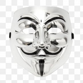 V For Vendetta - V For Vendetta Guy Fawkes Mask Costume Party PNG