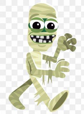 Mummy Cliparts - Frankensteins Monster Cartoon Halloween Clip Art PNG