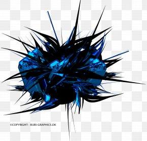Bleu-violet 3D Computer Graphics 3D Rendering Desktop Wallpaper PNG