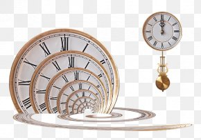 Time Across America - Clock Art Time Design Poster PNG