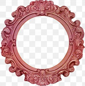 Red Frame Pattern - Picture Frame Decorative Arts Clip Art PNG