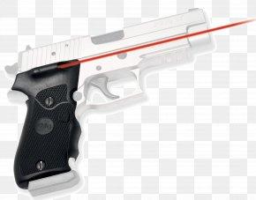 Laser Gun - SIG Sauer P220 Firearm Sight Crimson Trace PNG