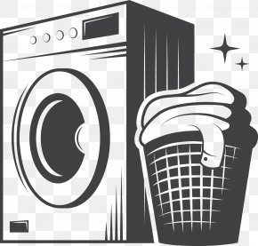 Gray Washing Machine - Cleaning Cleaner Clip Art PNG