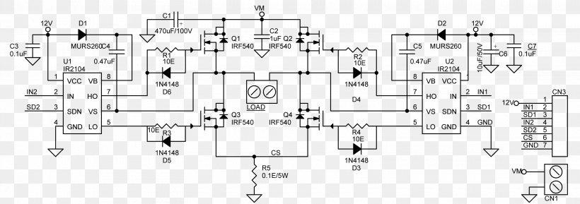 H Bridge Motor Controller Electronic Circuit Wiring Diagram Circuit Diagram Png 3120x1101px H Bridge Auto Part