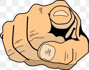 Appear Cliparts - Index Finger Pointing Clip Art PNG