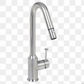 Faucet - Tap Sink American Standard Brands Bathtub Brushed Metal PNG