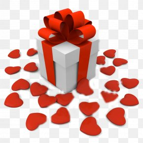 Valentine's Day - Valentine's Day Gift Net D Stock Photography PNG