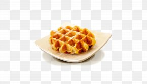 Cookies - Belgian Waffle Dessert Syrup Cake PNG