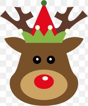 Reindeer - Reindeer Santa Claus Clip Art Christmas Day Rudolph PNG