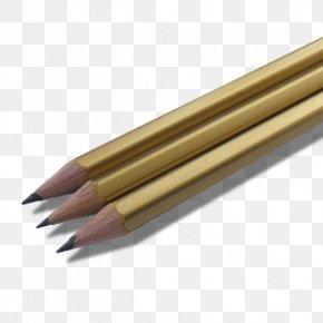 Pencil - Pencil Paper Ballpoint Pen Gold Caran D'Ache PNG