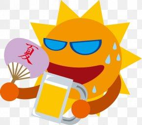 Summer Sun - Summer Season Qixi Festival 夏祭り PNG