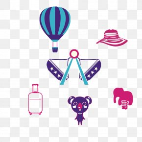 Hand-painted Amusement Park - Amusement Park Clip Art PNG