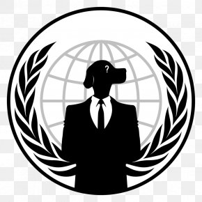 Anonymous Mask - Anonymous Logo Hacktivism Security Hacker PNG