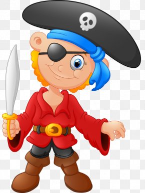Eyed Pirate - Piracy Royalty-free Clip Art PNG